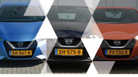 Afbeelding voor Zo goed als nieuwe Nissan Micra's