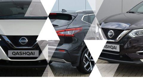 Afbeelding voor Nissan Qashqai's uit 2019!